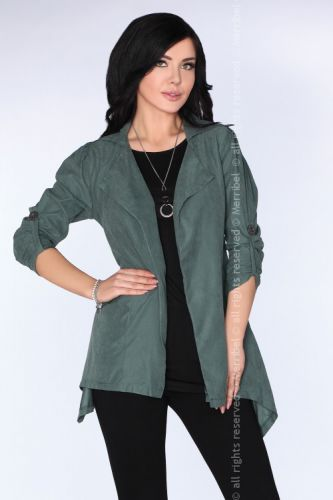 CG026 Dark Green kurtka
